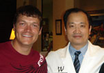 Dr Ming Wang and Brad Arnold