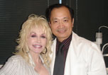 Dr Ming Wang and Dolly Parton