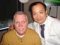 Randy with Dr. Wang