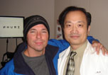 Kenny Chesney had LASIK with Dr. Wang
